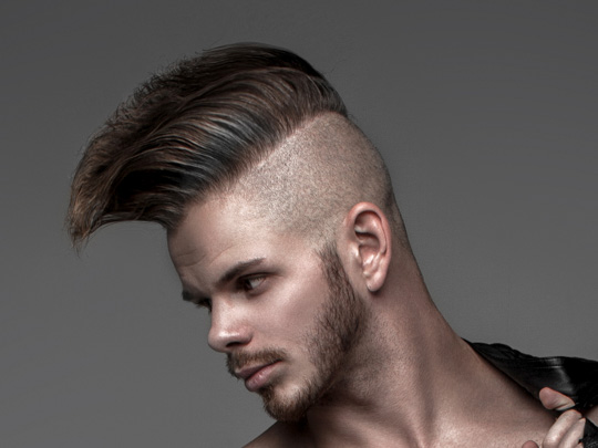 Wide and Long Mohawk