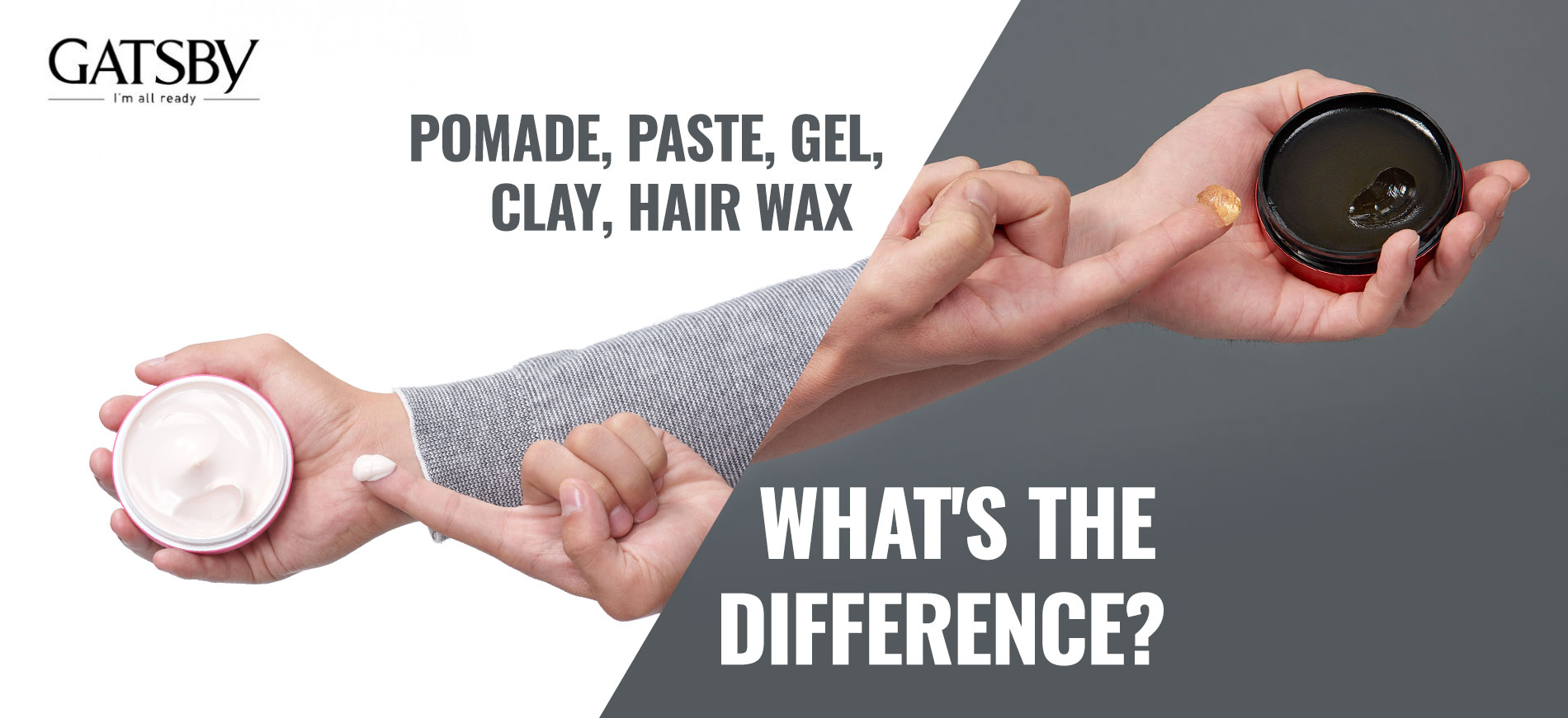 Pomade Paste Gel Clay Hair Wax What S The Difference