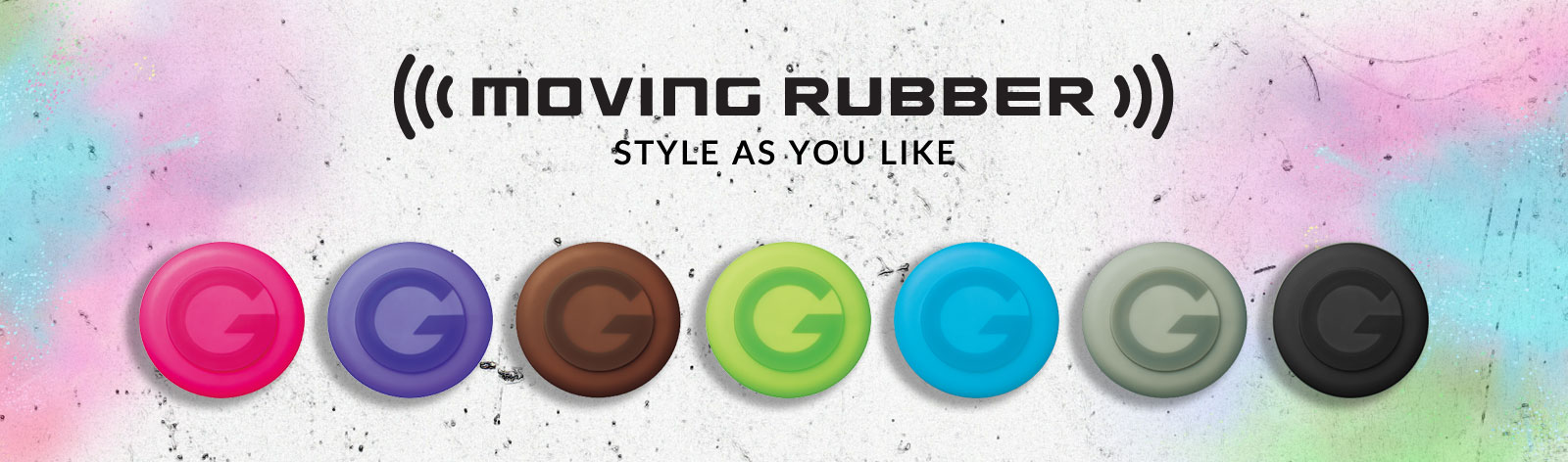 MOVING RUBBER